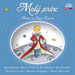 Audiokniha Malý princ - dramatizace - Antoine de Saint-Exupéry - Josef Somr