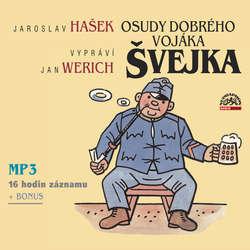 Audiokniha Osudy dobrého vojáka Švejka - Jaroslav Hašek - František Filipovský