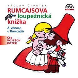 Audiokniha Rumcajsova loupežnická knížka & Vánoce u Rumcajsů - Václav Čtvrtek - Vojtěch Kotek
