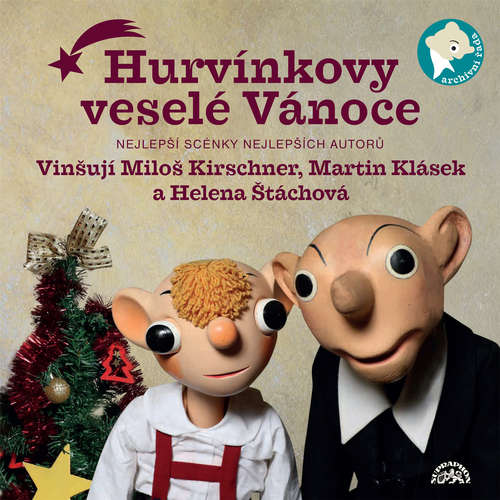 Audiokniha Hurvínkovy veselé Vánoce - František Nepil - Helena Štáchová
