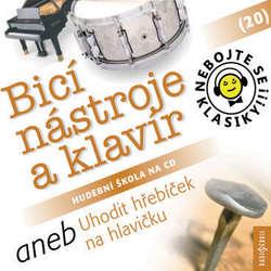 Audiokniha Nebojte se klasiky 20 - Bicí nástroje a klavír aneb Uhodit hřebíček na hlavičku - Různí autoři - Pavel Tesař