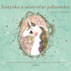 Audiokniha Justýnka a asistenční jednorožec - Kateřina Maďarková - Jana Plodková