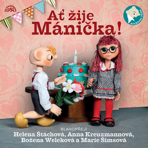 Audiokniha Ať žije Mánička! - Miloš Kirschner - Martin Klásek