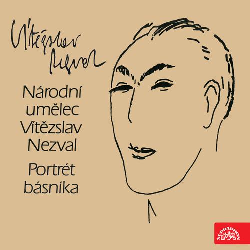 Portrét básníka Vítězslava Nezvala