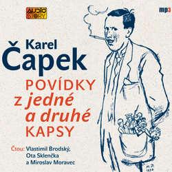 Audiokniha Povídky z jedné a druhé kapsy - Karel Čapek - Vlastimil Brodský