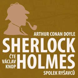 Audiokniha Dobrodružství Sherlocka Holmese 2 - Spolek ryšavců - Arthur Conan Doyle - Václav Knop