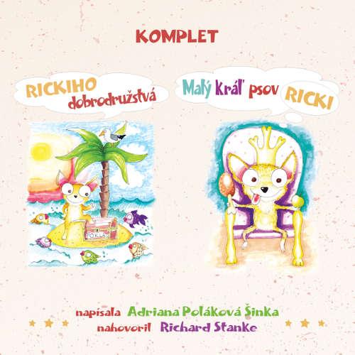 Audiokniha Ricki (komplet) - Adriana Poláková Šinka - Richard Stanke