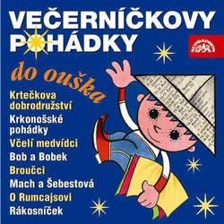 Audiokniha Večerníčkovy pohádky do ouška - Václav Čtvrtek - Jiřina Bohdalová