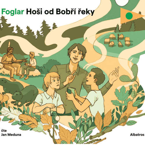 Audiokniha Hoši od Bobří řeky - Jaroslav Foglar - Jan Meduna