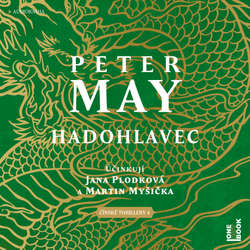 Hadohlavec - Peter May (Audiokniha)