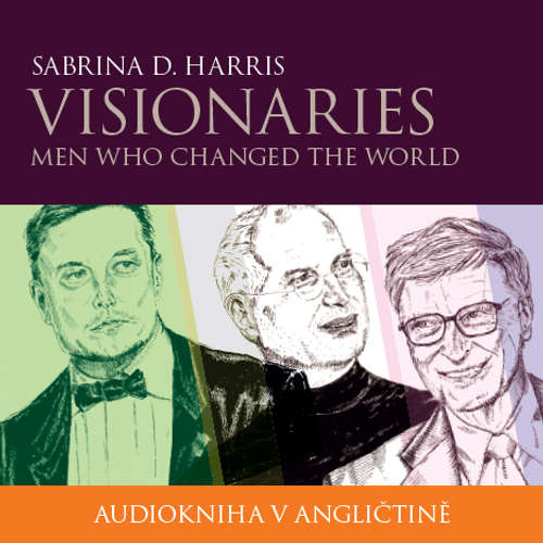 Audiobook Visionaries - Men Who Changed the World B1/B2 - Sabrina D. Harris - Ailsa Randall
