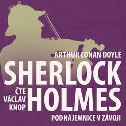 Audiokniha Z archivu Sherlocka Holmese 10 - Podnájemnice v závoji - Arthur Conan Doyle - Václav Knop