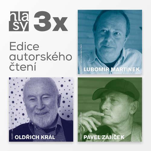 Audiokniha 3x HLASY: Martínek, Král, Zajíček - Lubomír Martínek - Lubomír Martínek