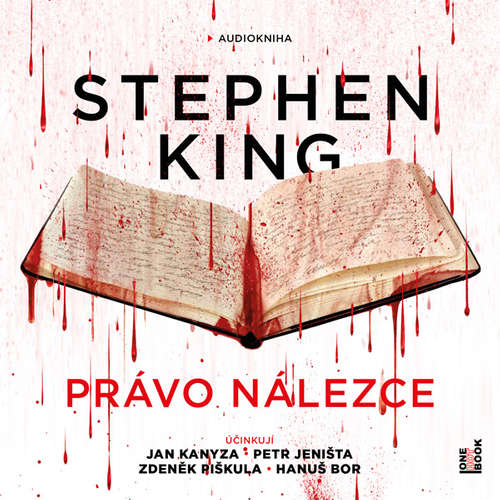 Audiokniha Právo nálezce - Stephen King - Jan Kanyza