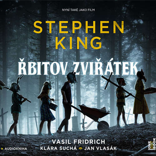 Audiokniha Řbitov zviřátek - Stephen King - Vasil Fridrich