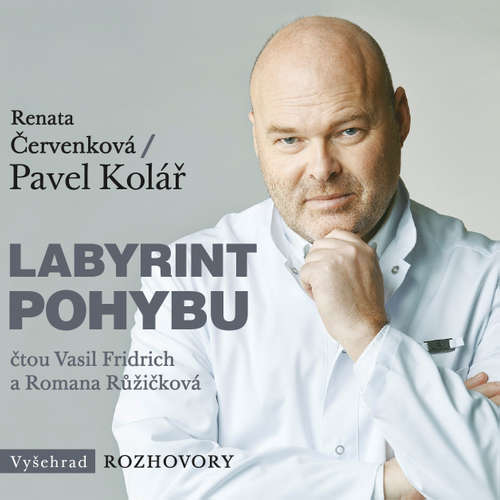 Audiokniha Labyrint pohybu - Renata Červenková - Vasil Fridrich