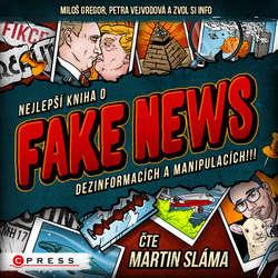 Audiokniha Nejlepší kniha o fake news!!! - Zvol si info - Martin Sláma