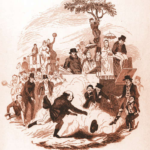 Audiokniha Pickwickovci - Charles Dickens - Josef Chvalina