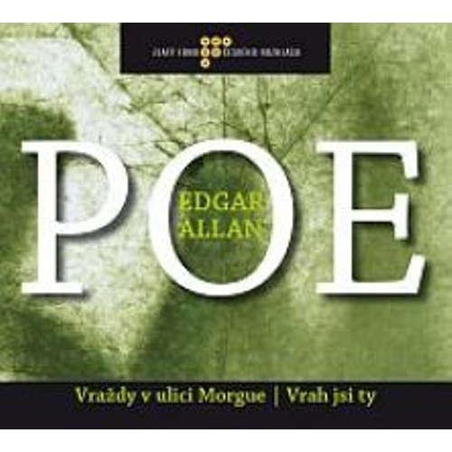 Audiokniha Vraždy v ulici Morque - Edgar Allan Poe - Jiří Adamíra