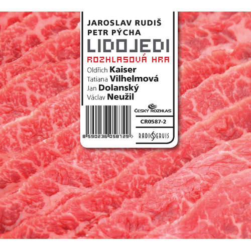 Audiokniha Lidojedi - Jaroslav Rudiš - Oldřich Kaiser