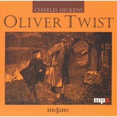 Audiokniha Oliver Twist - Charles Dickens - Jaroslav Kodeš