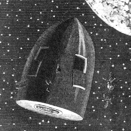 Audiokniha Cesta kolem Měsíce - Jules Verne - Jiří Ornest