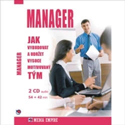 Audiokniha Manager - Dan Miller - Vítězslav Kryške