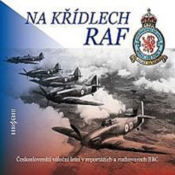 Na křídlech RAF - Authors Various (Audiokniha)