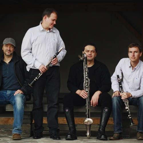 Audiokniha Clarinet Factory ve Studiu Live - Bedřich Smetana - České klarinetové kvarteto