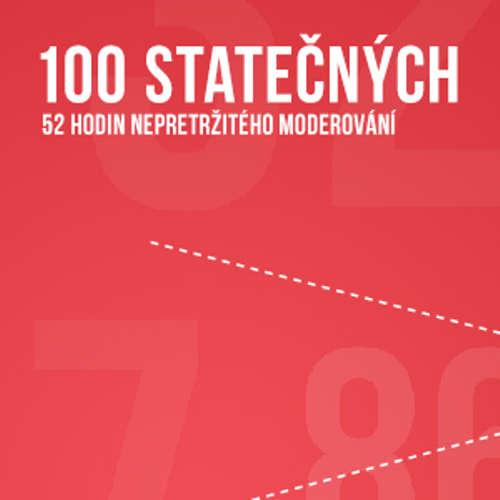 Audiokniha 100 statečných - Host č. 54 - Gustav Oplustil 07.06.2014 - Rôzni autori - Lucie Výborná