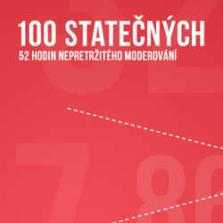 Audiokniha 100 statečných - Host č. 100 - Jan Saudek 08.06.2014 - Various authors - Lucie Výborná