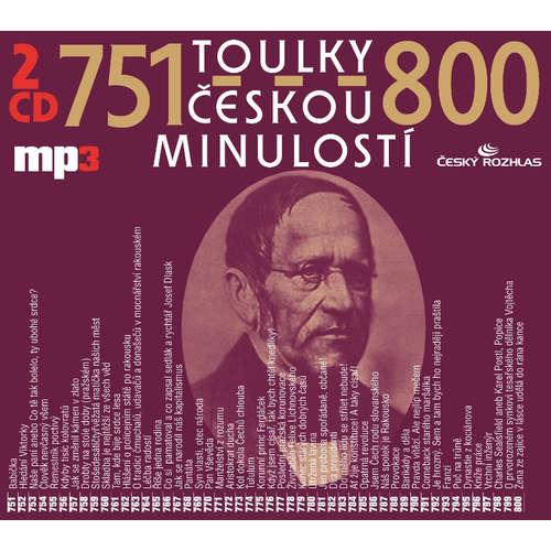 Audiokniha Toulky českou minulostí 776-800 - Petr Hořejš - Ivana Valešová