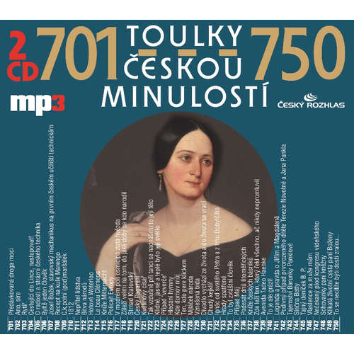 Audiokniha Toulky českou minulostí 701-725 - Josef Veselý - Igor Bareš