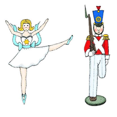 Cínový vojáček a tanečnice