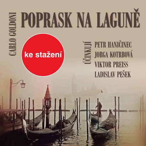 Audiokniha Poprask na laguně - Carlo Goldoni - Růžena Merunková