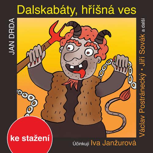 Audiokniha Dalskabáty, hříšná ves aneb Zapomenutý čert - Jan Drda - Josef Somr