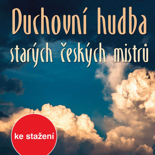 Audiokniha Duchovní hudba starých českých mistrů - Jan Zach - Vladimír Doležal