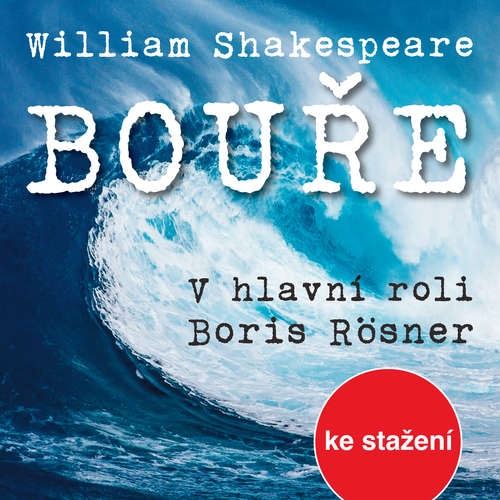 Audiokniha Bouře - William Shakespeare - Josef Somr