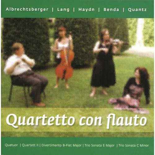 Audiokniha Quartetto con flauto - Johann Georg Albrechtsberger - Quartetto con flauto