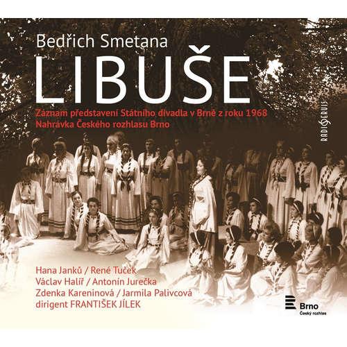 Audiokniha Libuše - Bedřich Smetana - Václav Halíř