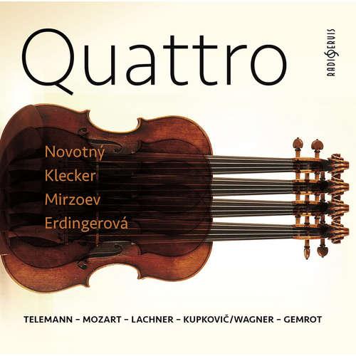 Audiokniha Telemann-Mozart-Lachner-Kupkovič/Wagner-Gemrot - Georg Philipp Telemann -