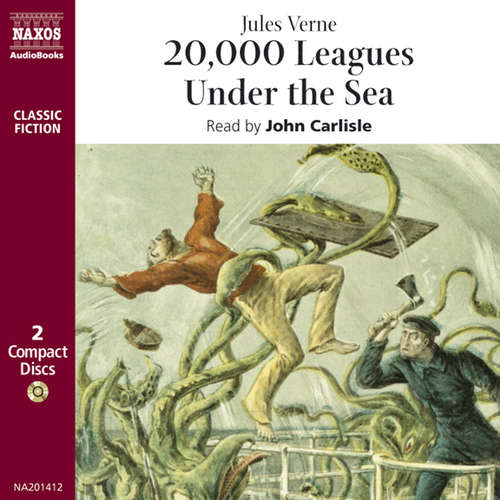 Audiobook 20,000 Leagues Under the Sea (EN) - Jules Verne - John Carlisle