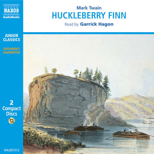 Audiobook The Adventures of Huckleberry Finn (EN) - Mark Twain - Garrick Hagon