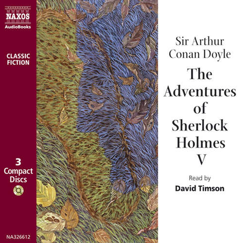 Audiobook The Adventures of Sherlock Holmes – Volume V (EN) - Arthur Conan Doyle - David Timson