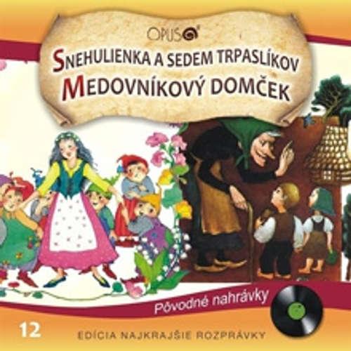 Audiokniha Najkrajšie rozprávky 12 - Různí autoři - Eva Rysová