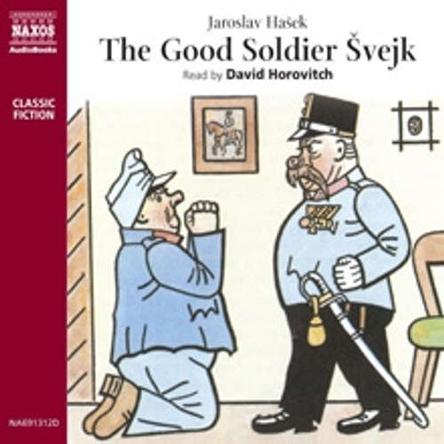 Audiobook The Good Soldier Švejk (EN) - Jaroslav Hašek - David Horovitch