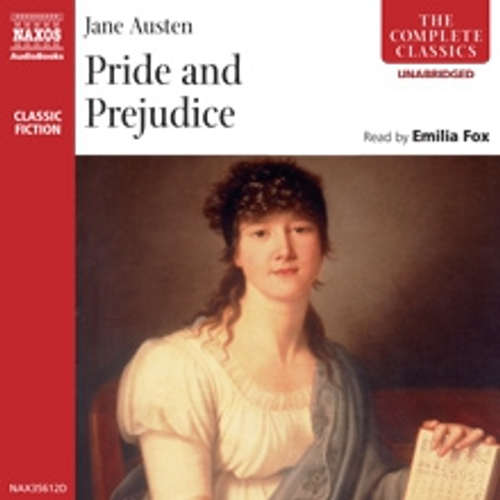 Audiobook Pride and Prejudice (EN) - Jane Austenová - Emilia Fox
