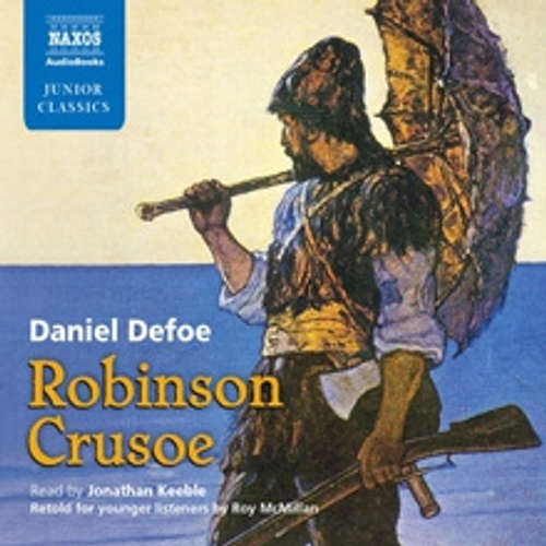 Audiobook Robinson Crusoe (EN) - Daniel Defoe - Jonathan Keeble