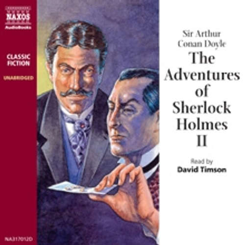 Audiobook The Adventures of Sherlock Holmes II (EN) - Arthur Conan Doyle - David Timson