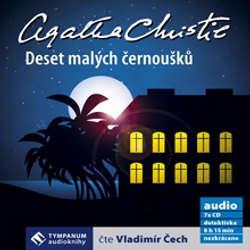 Audiokniha Deset malých černoušků - Agatha Christie - Vladimír Čech
